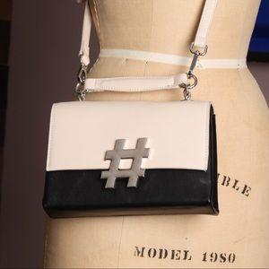 Re-Hash Bags - REHASH - Hashtag Shoulder Purse